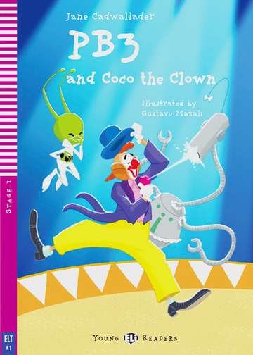 Cover PB3 and Coco the Clown 978-3-12-514797-3 Jane Cadwallader Englisch