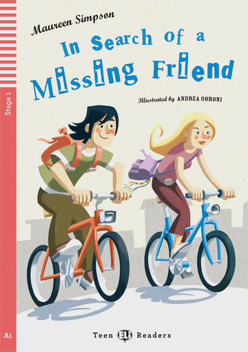 Cover In Search of a Missing Friend 978-3-12-514813-0 Maureen Simpson Englisch