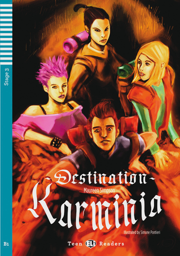 Cover Destination Karminia 978-3-12-514824-6 Maureen Simpson Englisch