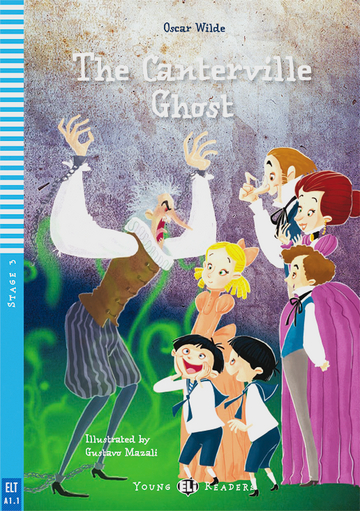 Cover The Canterville Ghost 978-3-12-514829-1 Oscar Wilde Englisch