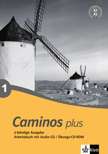 Cover Caminos plus 1 978-3-12-514942-7 Spanisch