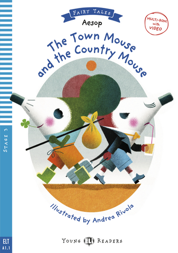 Cover The Town Mouse and the Country Mouse 978-3-12-515065-2 Äsop Englisch