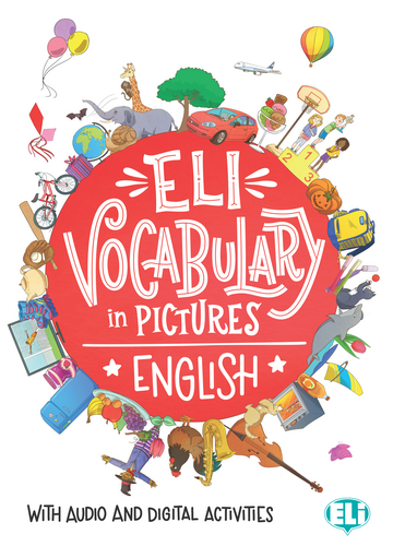 Cover ELI Vocabulary in pictures English 978-3-12-515150-5 Englisch