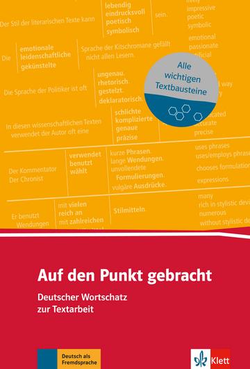 Cover Auf den Punkt gebracht 978-3-12-519567-7 Deutsch als Fremdsprache (DaF),Deutsch als Zweitsprache (DaZ)