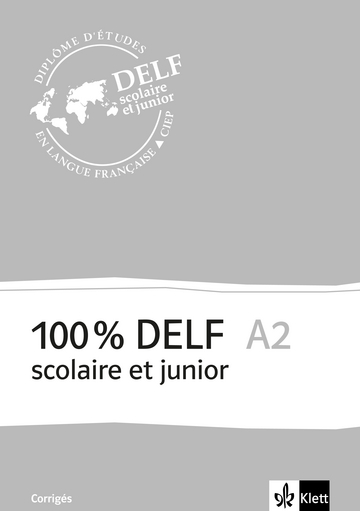 Cover 100% DELF A2 - Version scolaire et junior 978-3-12-529411-0 Französisch