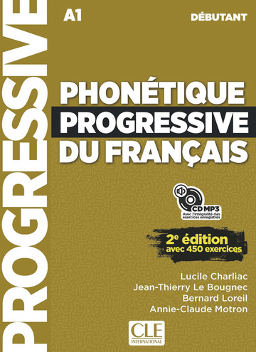Cover Phonétique progressive du français 978-3-12-529996-2 Französisch