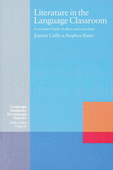 Cover Literature in the Language Classroom 978-3-12-533990-3 Joanne Collie, Stephen Slater Englisch