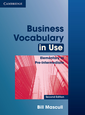 Cover Business Vocabulary in Use 978-3-12-534659-8 Englisch für den Beruf