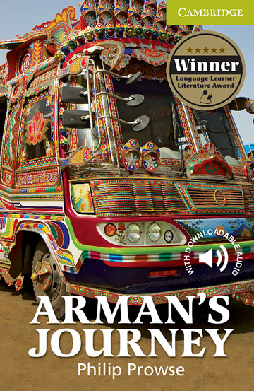 Cover Arman's Journey 978-3-12-534689-5 Philip Prowse Englisch
