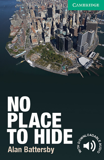 Cover No Place to Hide 978-3-12-534693-2 Alan Battersby Englisch