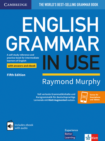 Cover English Grammar in Use 978-3-12-535423-4