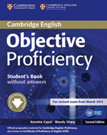 Cover Objective Proficiency 978-3-12-540141-9 Englisch