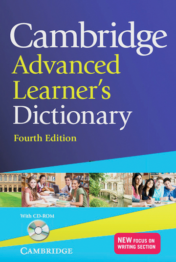 Cover Cambridge Advanced Learner's Dictionary Fourth edition 978-3-12-540154-9 Englisch