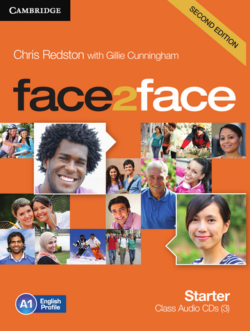 Cover face2face (2nd edition) 978-3-12-540333-8 Englisch