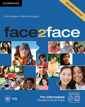 Cover face2face (2nd edition) 978-3-12-540347-5 Englisch