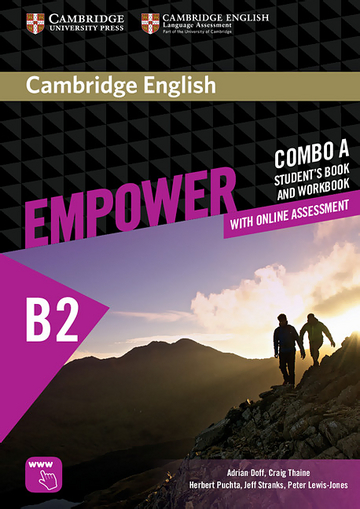 Cambridge English Empower Upper Intermediate (B2) Combo A: Student's book  (including Online Assesment Package and Workbook) | Klett Sprachen
