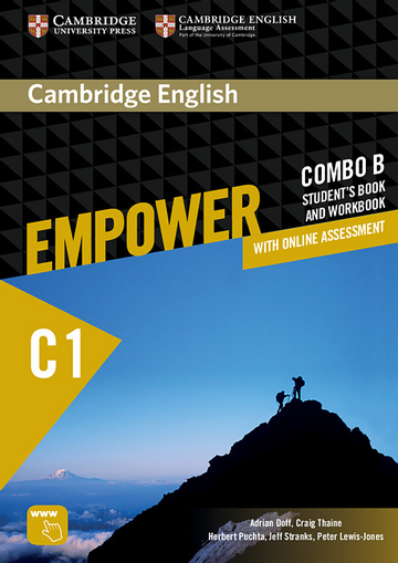 Cambridge English Empower Advanced (C1) Combo B: Student's book (including  Online Assesment Package and Workbook) | Klett Sprachen