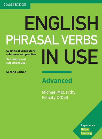 Cover English Phrasal Verbs in Use Advanced 2nd Edition 978-3-12-541013-8 Englisch