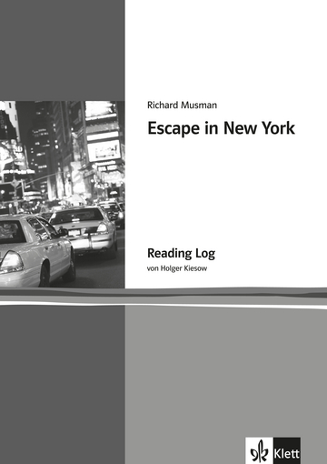 Cover Escape in New York 978-3-12-542598-9 Richard Musman, Holger Kiesow Englisch