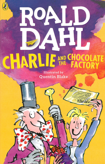 Cover Charlie and the Chocolate Factory 978-3-12-573768-6 Englisch