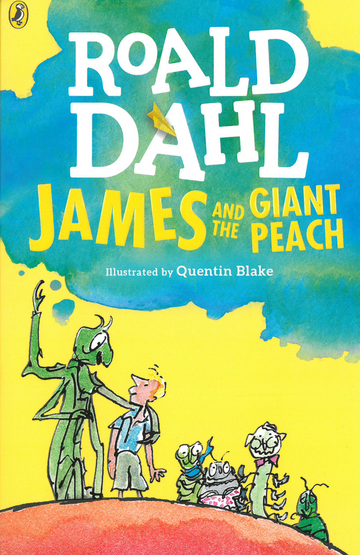 Cover James and the Giant Peach 978-3-12-573771-6 Roald Dahl Englisch