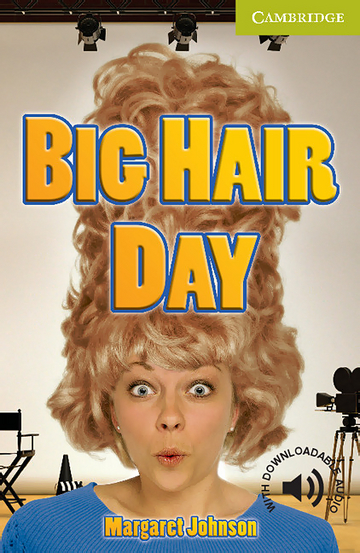 Cover Big Hair Day 978-3-12-574007-5 Margaret Johnson Englisch