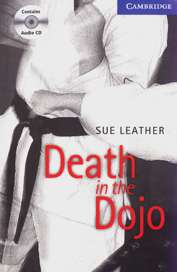 Cover Death in the Dojo 978-3-12-574538-4 Sue Leather Englisch