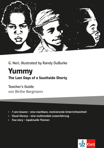 Cover Yummy - The last days of a Southside Shorty 978-3-12-578206-8 Birthe Bergmann, Greg Neri Englisch