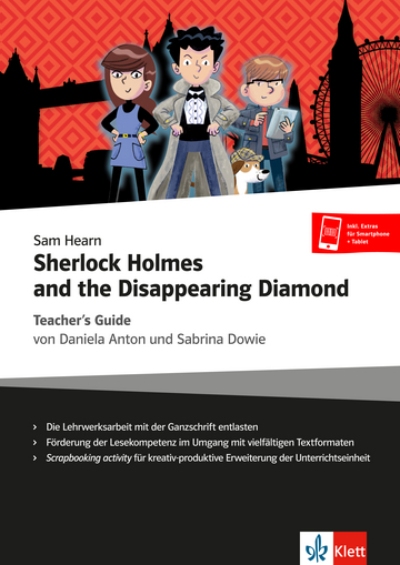 Cover Sherlock Holmes and the Disappearing Diamond 978-3-12-578226-6 Englisch