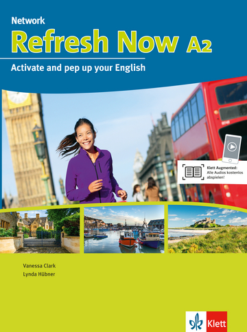 Cover Refresh Now A2 978-3-12-605187-3 Englisch