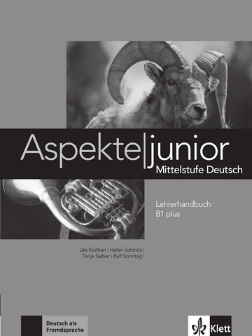 Cover Aspekte junior B1 plus 978-3-12-605252-8 Deutsch als Fremdsprache (DaF),Deutsch als Zweitsprache (DaZ)