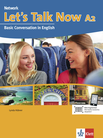 Cover Let's Talk Now A2 978-3-12-605555-0 Englisch