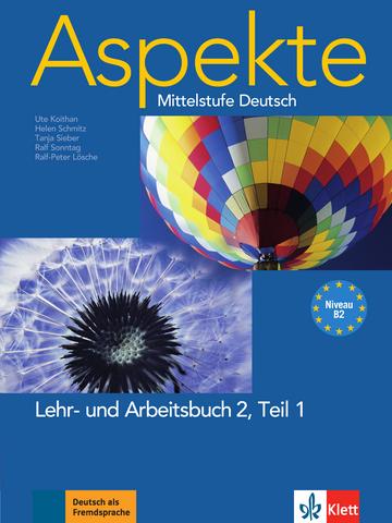 Aspekte 2 B2 Lehr Und Arbeitsbuch Teil 1 Mit 2 Audio Cds Klett
