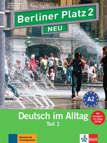 berliner platz 2 neu lehr und arbeitsbuch teil 1 mit audio cd zum arbeitsbuchteil und im. Black Bedroom Furniture Sets. Home Design Ideas
