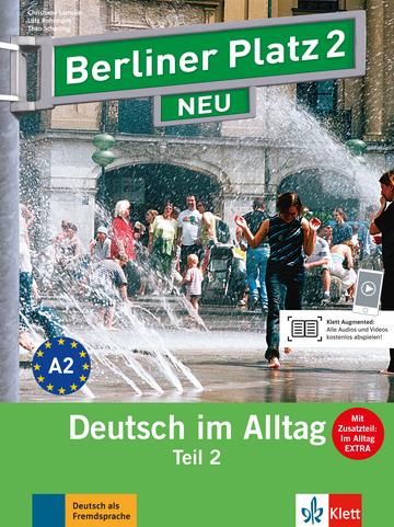 berliner platz 2 neu lehr und arbeitsbuch teil 2 mit audio cd zum arbeitsbuchteil und im. Black Bedroom Furniture Sets. Home Design Ideas