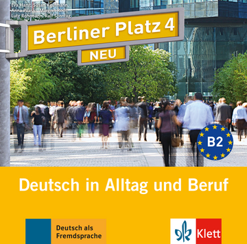 berliner platz 4 neu 2 audio cds zum lehrbuch klett. Black Bedroom Furniture Sets. Home Design Ideas