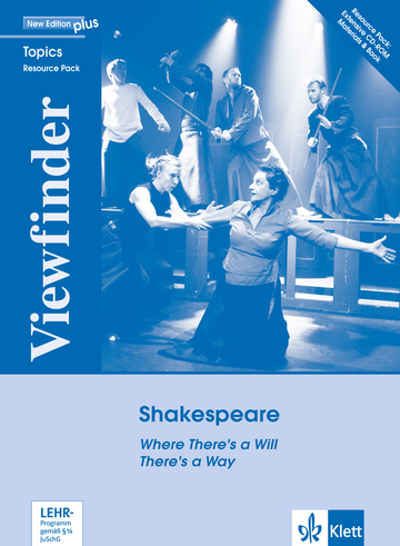 Cover Shakespeare 978-3-12-606082-0 Englisch