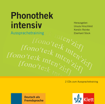 Cover Phonothek intensiv 978-3-12-606386-9 Deutsch als Fremdsprache (DaF)