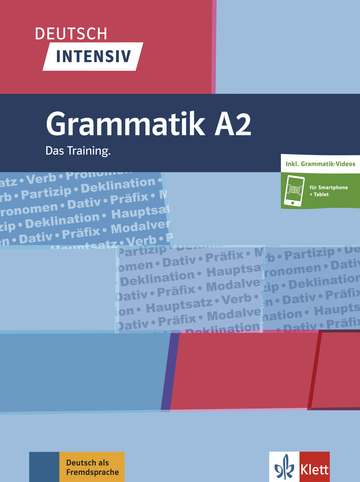 Cover Deutsch intensiv Grammatik A2 978-3-12-675059-2 Deutsch als Fremdsprache (DaF)