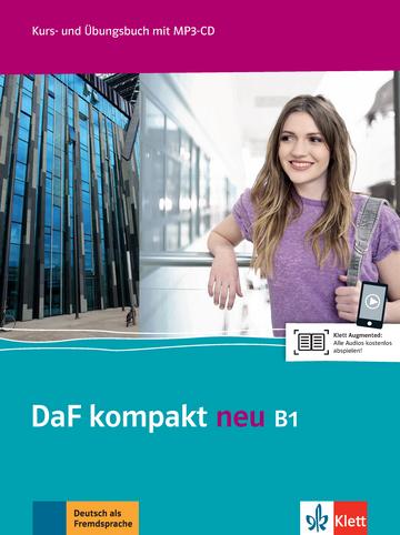 Daf Kompakt Neu B1 Kurs Und übungsbuch Mit Mp3 Cd Klett Sprachen