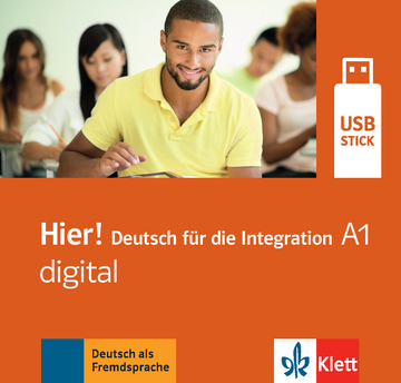Cover Hier! A1 digital 978-3-12-676696-8 Deutsch als Fremdsprache (DaF)
