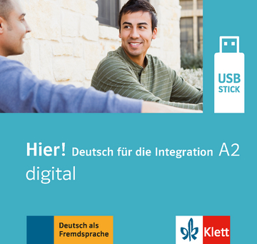 Cover Hier! A2 digital 978-3-12-676697-5 Deutsch als Fremdsprache (DaF)