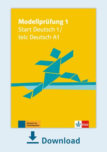 Modellprüfung 1 Start Deutsch 1 Pdf Mit Audio Dateien Klett Sprachen