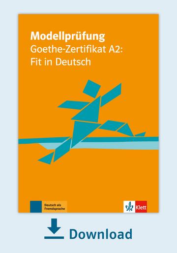 Modellprüfung Goethe Zertifikat A2 Fit In Deutsch Pdf Mit Audio