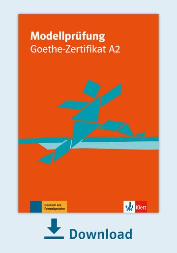 Modellprüfung Goethe Zertifikat A2 Pdf Mit Audio Dateien Klett