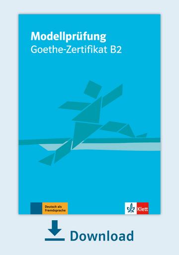 Modellprüfung Goethe Zertifikat B2 Pdf Mit Audio Dateien Klett