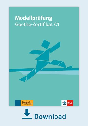 Modellprüfung Goethe Zertifikat C1 Pdf Mit Audio Dateien Klett