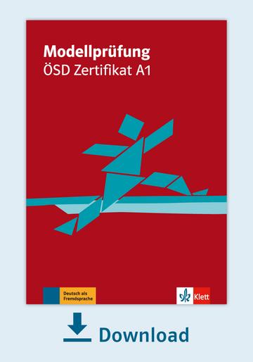 Modellprüfung ösd Zertifikat A1 Pdf Mit Audio Dateien Klett Sprachen