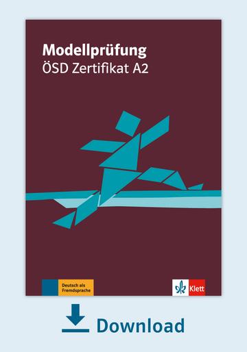 Modellprüfung ösd Zertifikat A2 Pdf Mit Audio Dateien Klett Sprachen