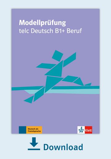 Modellprüfung Telc Deutsch B1beruf Pdf Mit Audio Dateien Klett